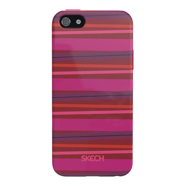 iPhone 5/5S/SE - Pink Skech Groove Case