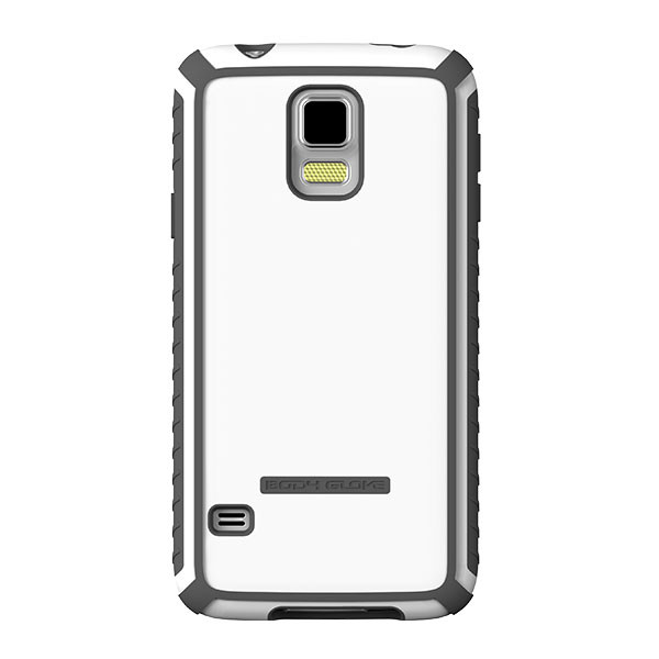 Galaxy S5 - White/Charcoal BodyGlove Tactic Case Cover