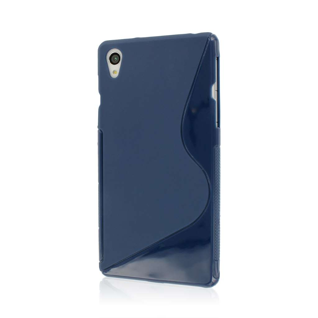 Sony Xperia Z2 - Navy Blue MPERO FLEX S - Protective Case Cover