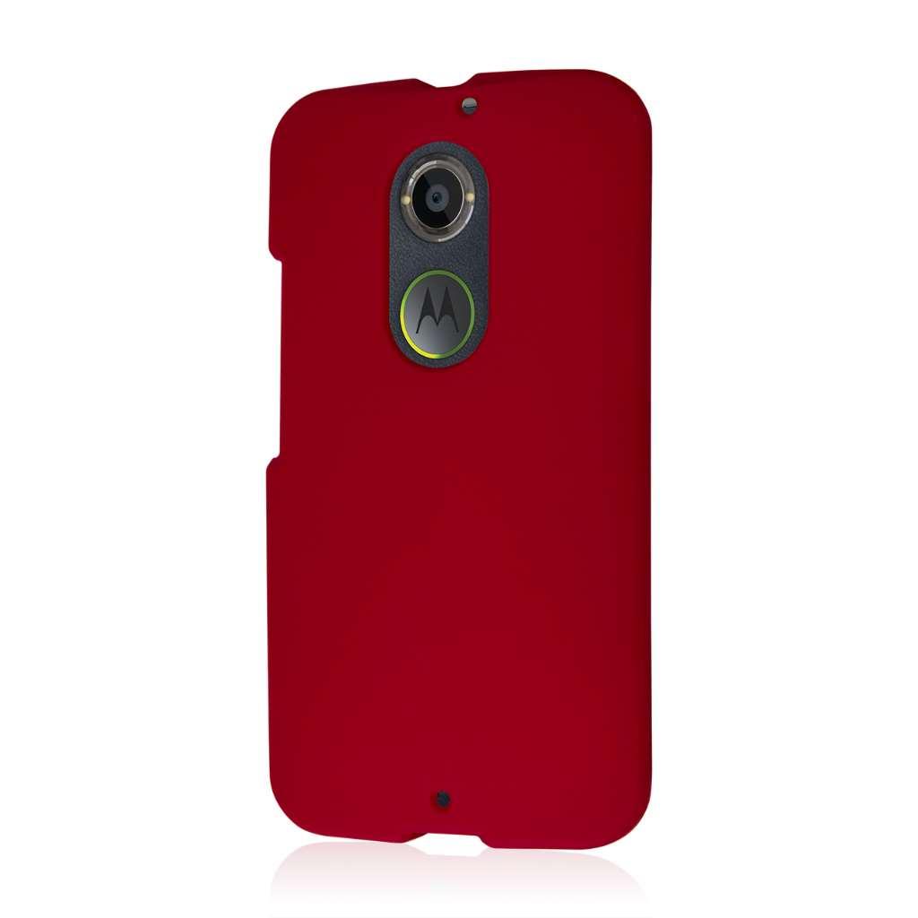 Motorola Moto X 2014 2nd Gen - Burgundy MPERO SNAPZ - Case Cover