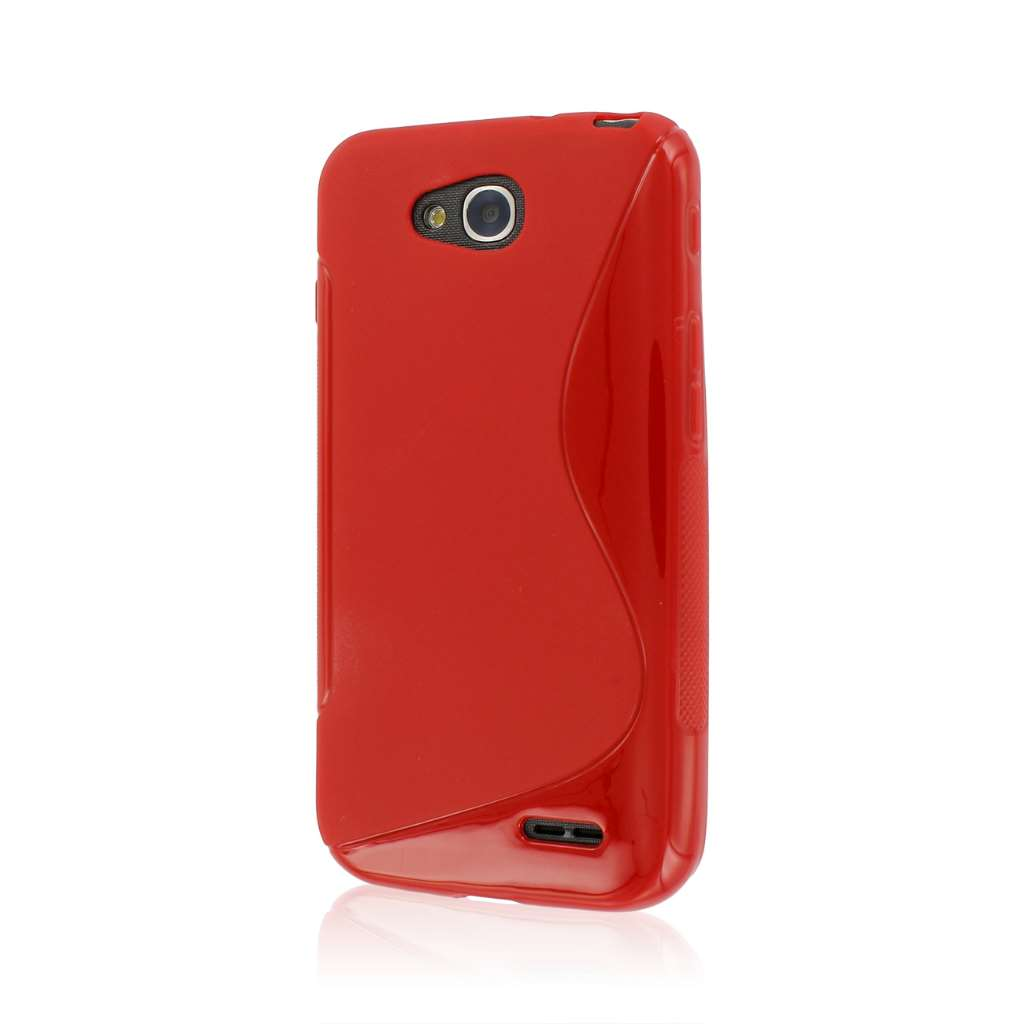 LG Optimus L90 - Red MPERO FLEX S - Protective Case Cover