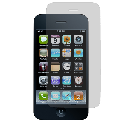 Apple iPhone 3G / 3GS Clear LCD Screen Protector