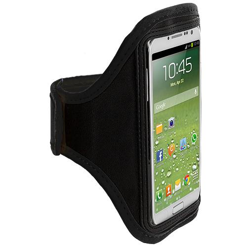 Samsung Galaxy S4 Black Running Sports Gym Armband