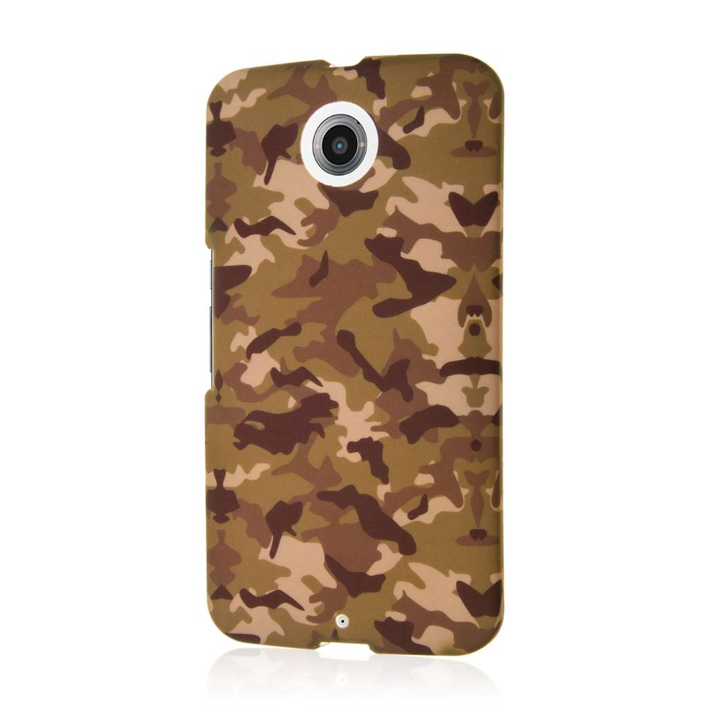 Google Nexus 6 - Green Camo MPERO SNAPZ - Case Cover