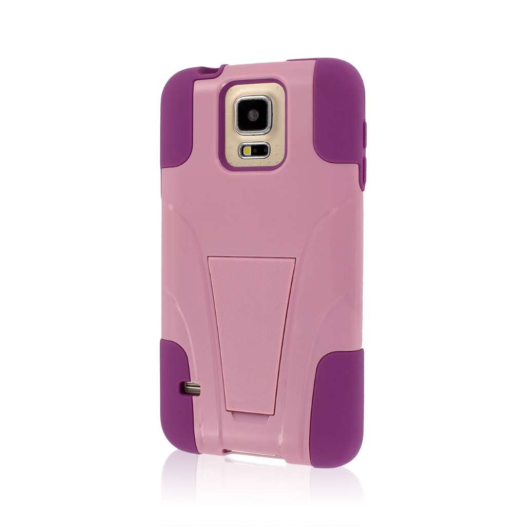 Samsung Galaxy S5 - Pink MPERO IMPACT X - Kickstand Case Cover