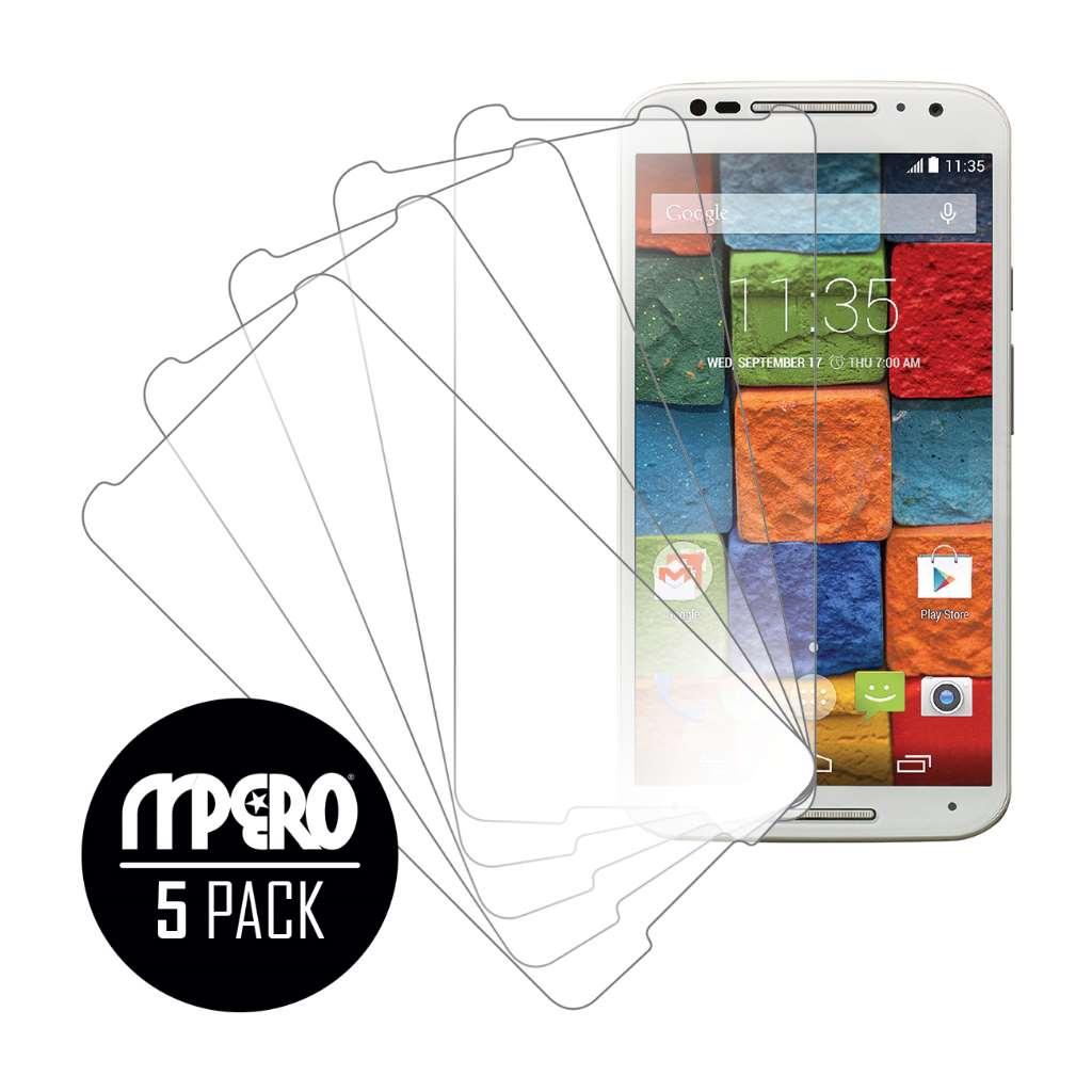 Motorola Moto X 2014 2nd Gen MPERO 5 Pack of Ultra Clear Screen Protectors