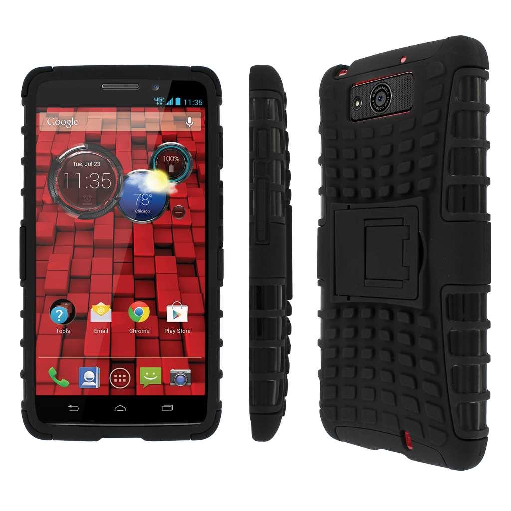 Motorola DROID MAXX/ DROID Ultra MPERO IMPACT SR - Kickstand Case -BLACK