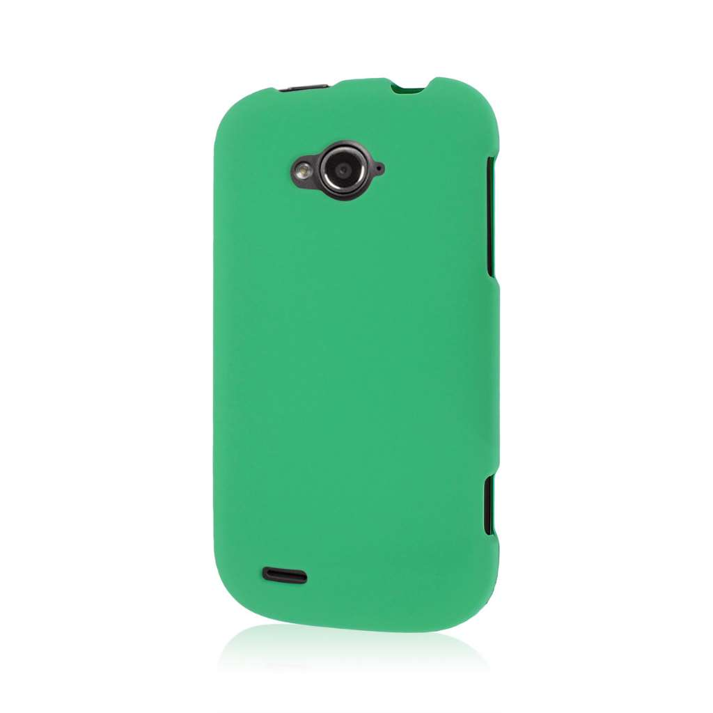 ZTE Savvy - Mint Green MPERO SNAPZ - Rubberized Case Cover
