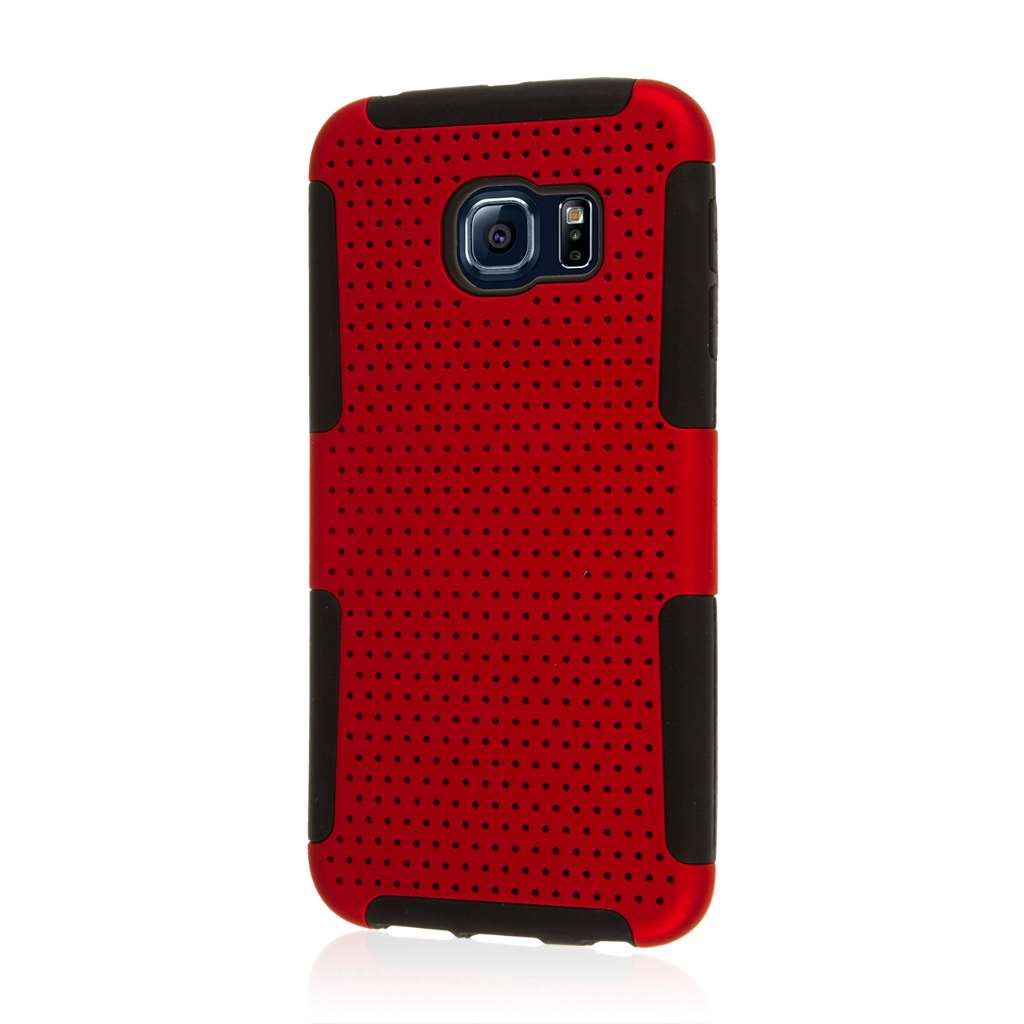 Samsung Galaxy S6 Edge - Red MPERO FUSION M - Protective Case Cover