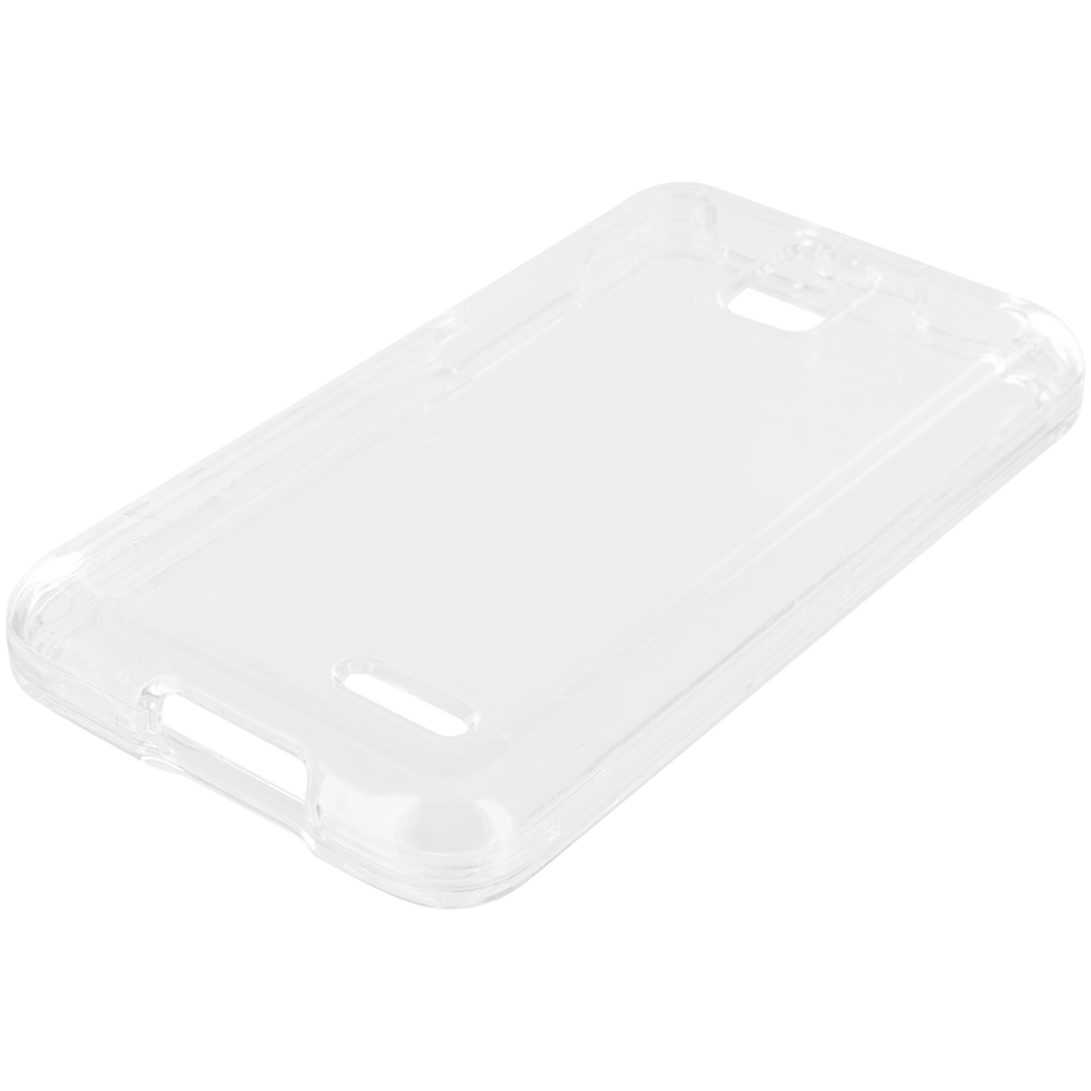 Alcatel One Touch Pop Star A845L Clear Crystal Transparent Hard Case Cover