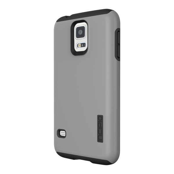 Samsung Galaxy S5 - Gray/Black Incipio DualPro Case Cover