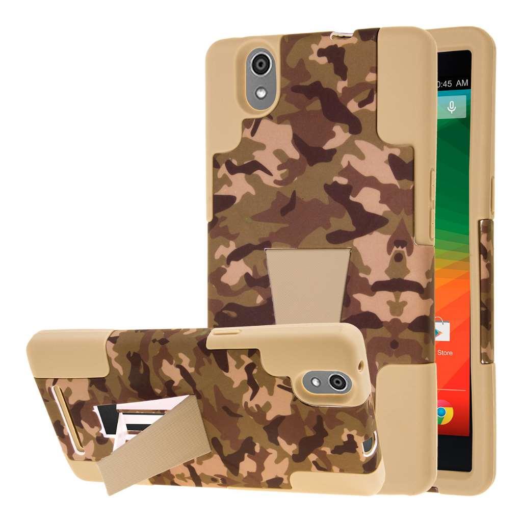 ZTE ZMAX - Hunter Camo MPERO IMPACT X - Kickstand Case Cover