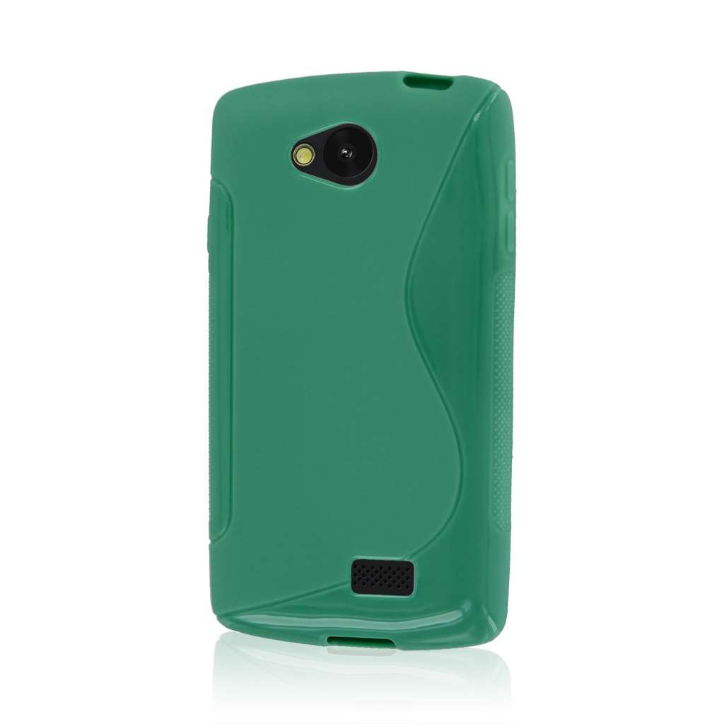 LG F60 - Mint Green MPERO FLEX S - Protective Case Cover