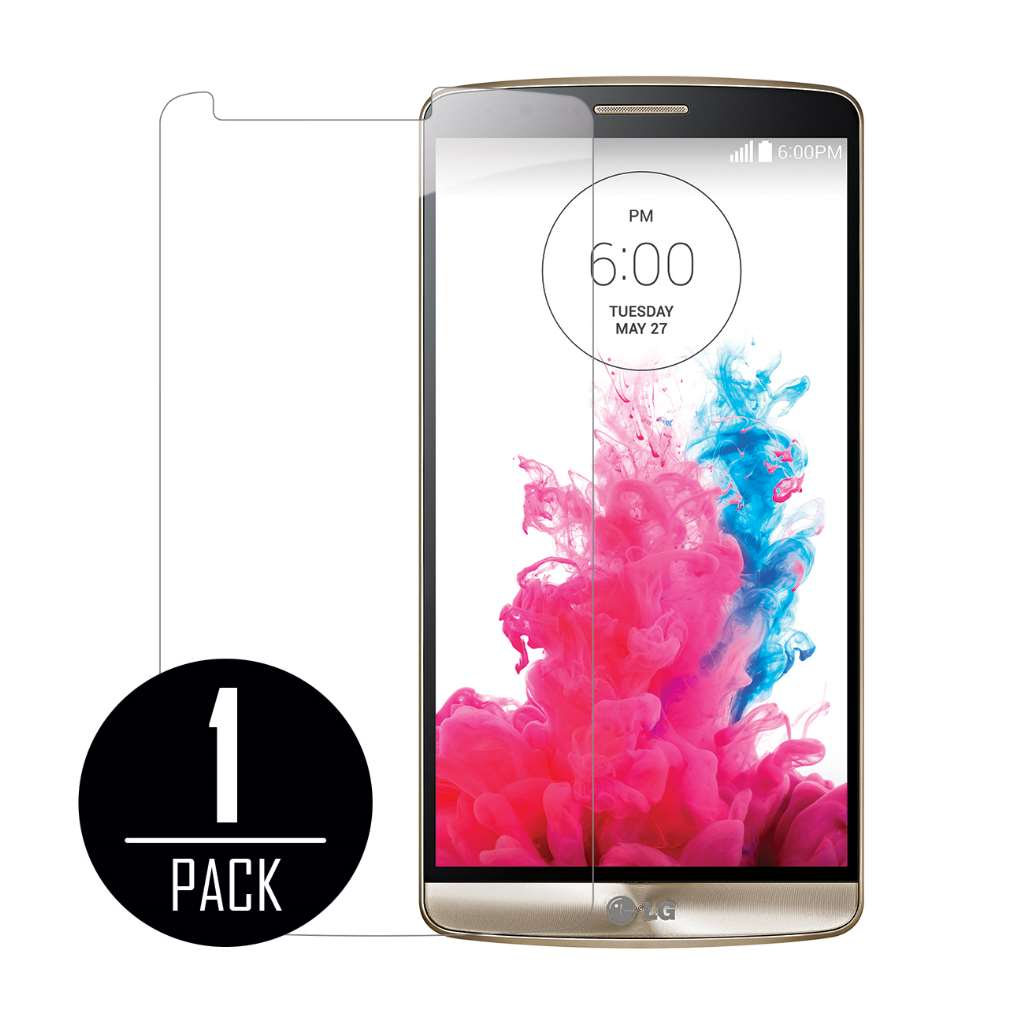 LG G3 MPERO Tempered Glass Screen Protector