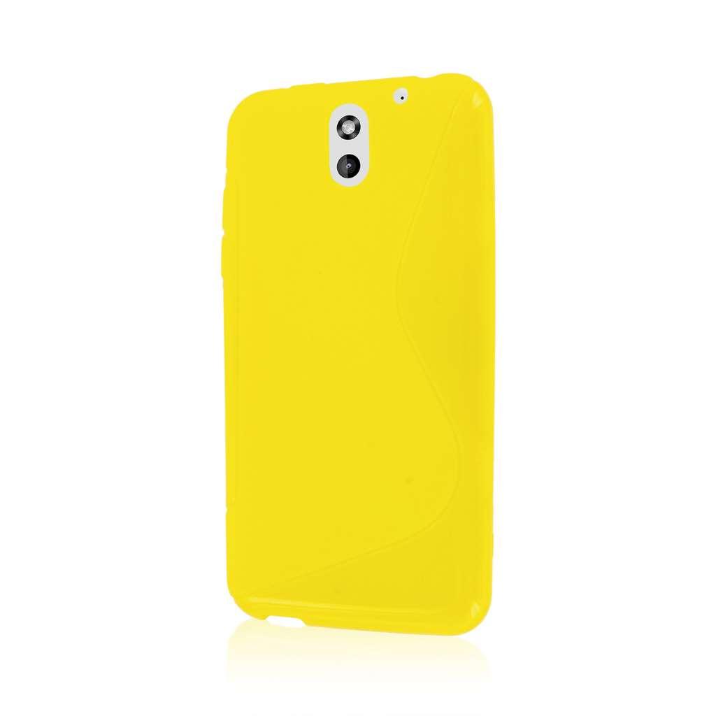 HTC Desire 610 - Yellow MPERO FLEX S - Protective Case Cover