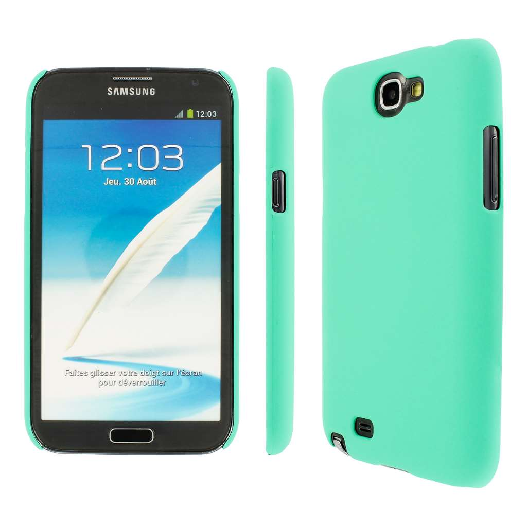 Samsung Galaxy Note 2 - Mint MPERO SNAPZ - Rubberized Case Cover