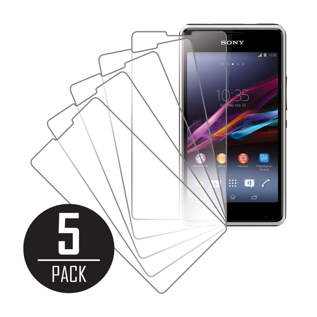 Sony Xperia E1 MPERO 5 Pack of Clear Screen Protectors