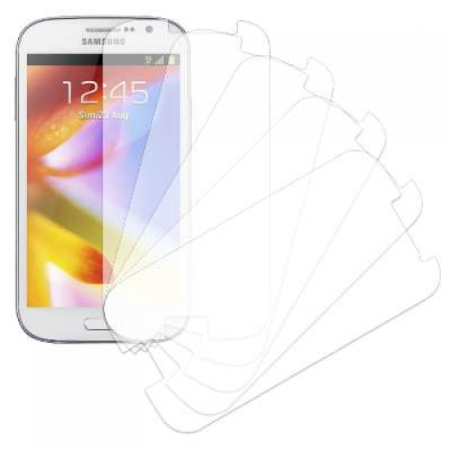 Samsung Galaxy Grand MPERO 5 Pack of Clear Screen Protectors