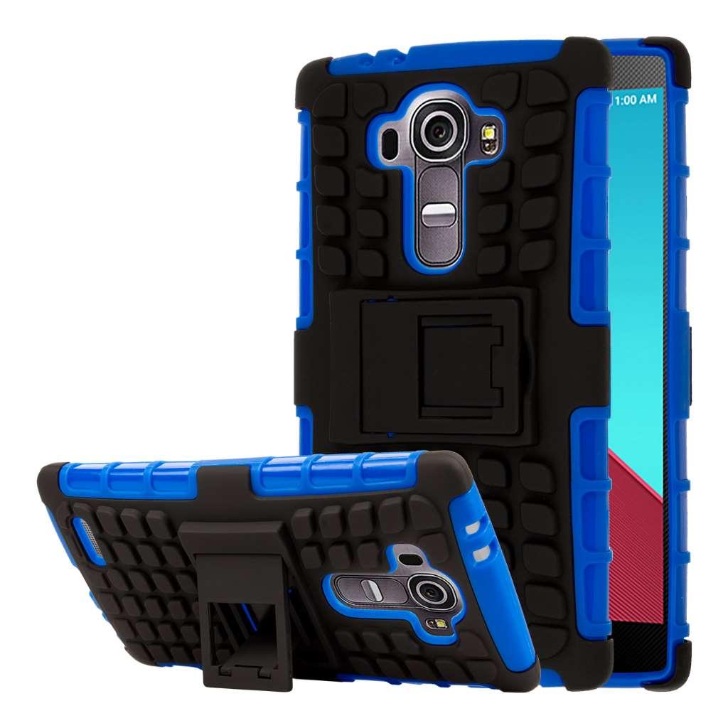 LG G4 - Blue MPERO IMPACT SR - Kickstand Case Cover