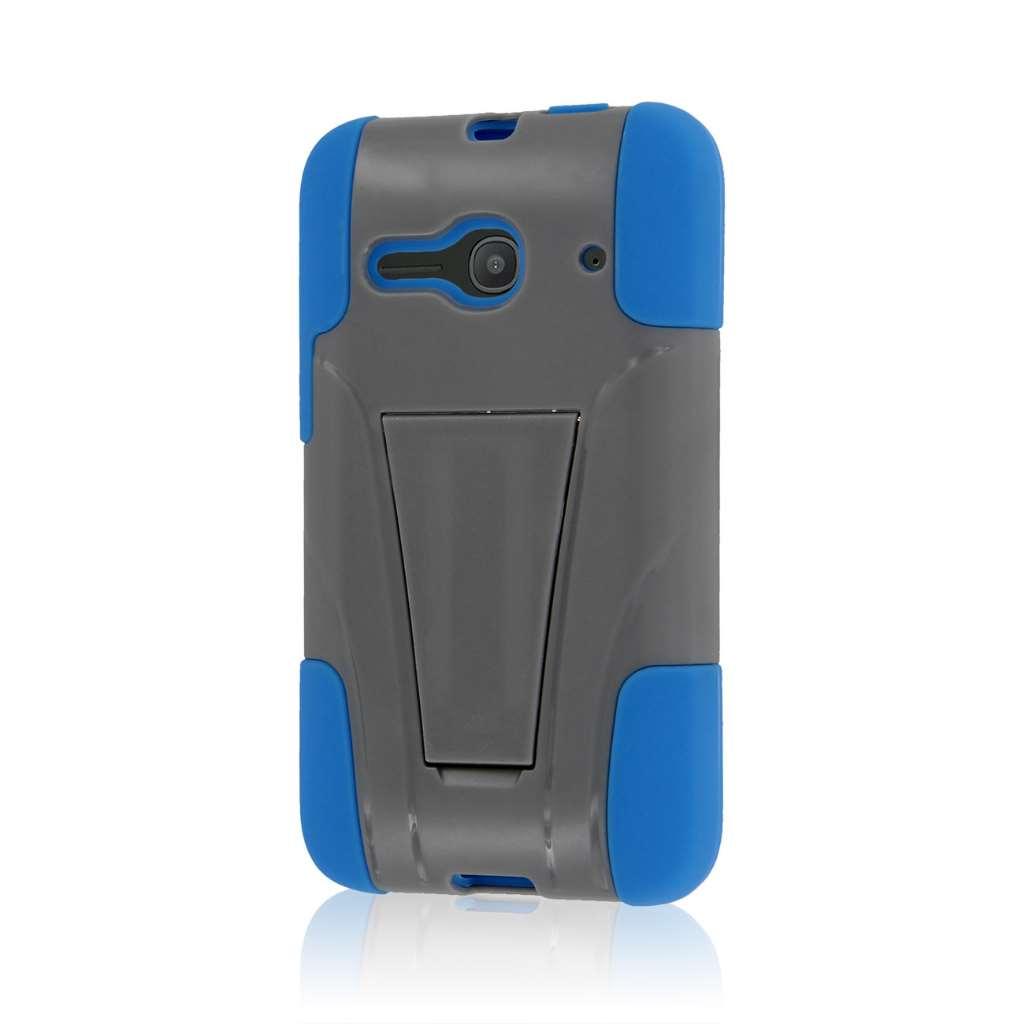 Alcatel OneTouch Evolve 2 - Blue / Gray MPERO IMPACT X - Kickstand Case