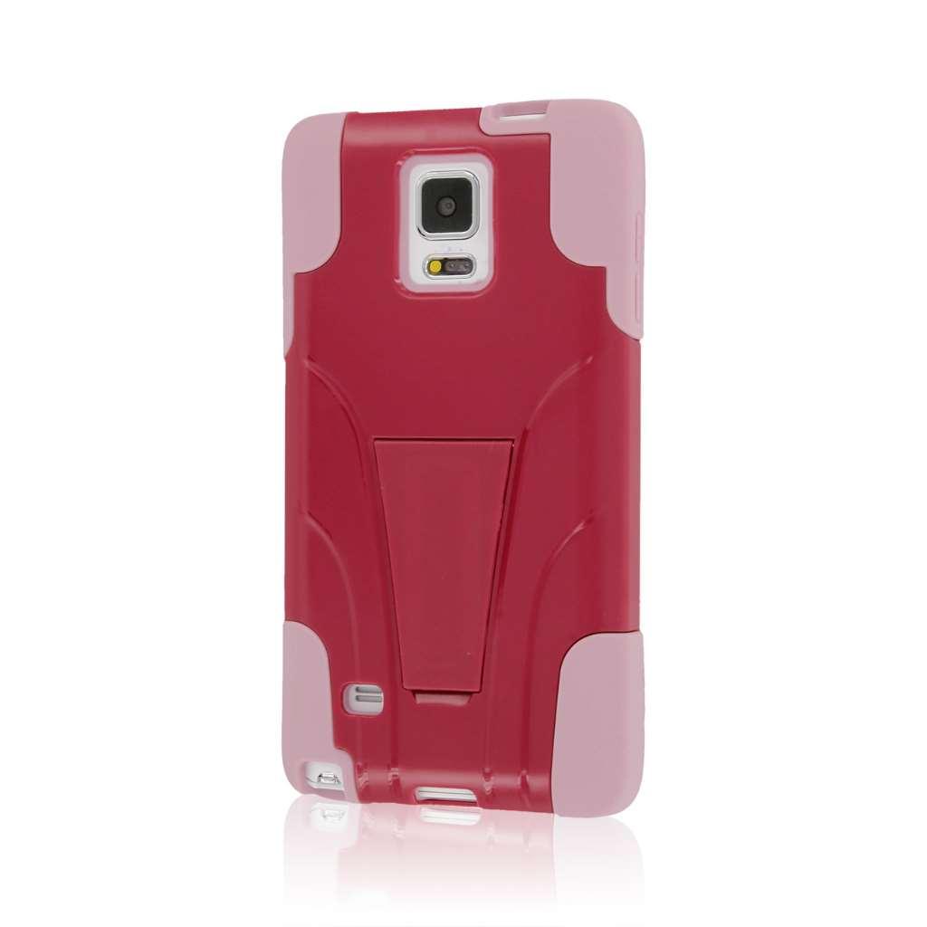Samsung Galaxy Note 4 - Hot Pink / Pink MPERO IMPACT X - Kickstand Case
