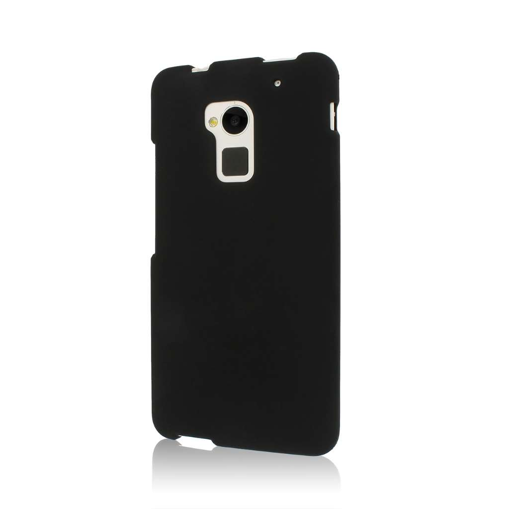 HTC One Max - Black MPERO SNAPZ - Rubberized Case Cover