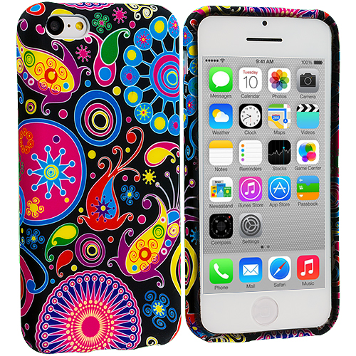 Apple iPhone 5C Rainbow Fish TPU Design Soft Case Cover