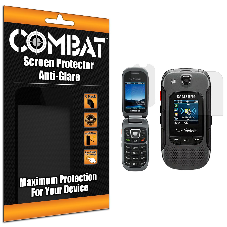 Samsung Convoy 3 U680 Combat 6 Pack Anti-Glare Matte Screen Protector