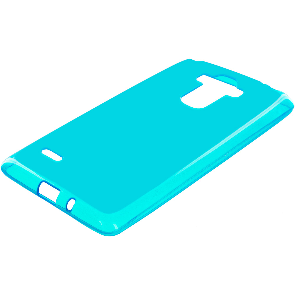 LG G Stylo Baby Blue TPU Rubber Skin Case Cover
