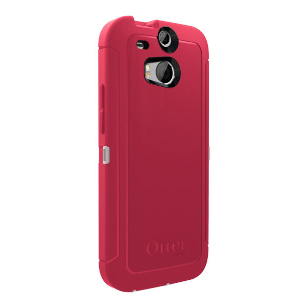 HTC One (M8) - Neon Rose OtterBox Defender Case