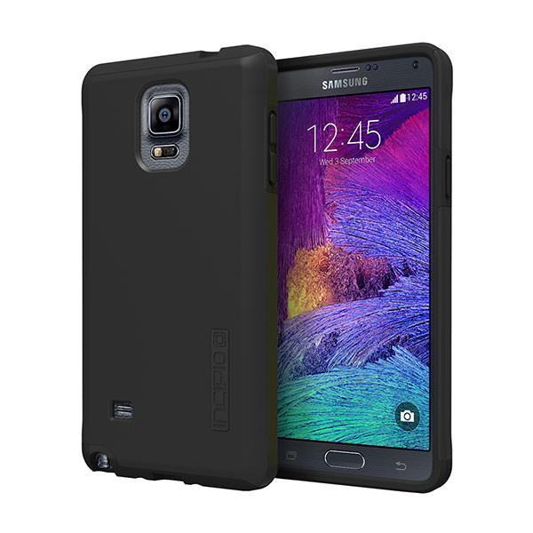 galaxy Note 4 - Black/Black Incipio DualPro Case Cover