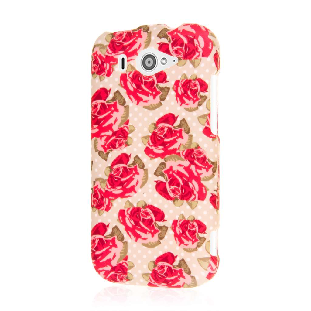 ZTE Imperial II - Vintage Red Roses MPERO SNAPZ - Case Cover