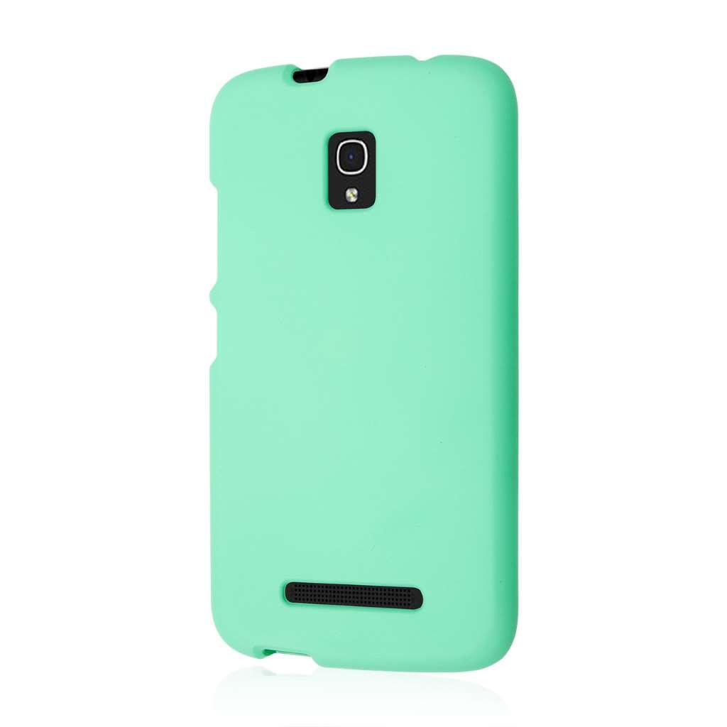 Alcatel OneTouch Pop Mega LTE - Mint Green MPERO SNAPZ - Rubberized Case