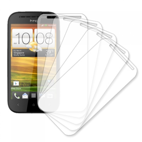 HTC One SV MPERO 5 Pack of Clear Screen Protectors