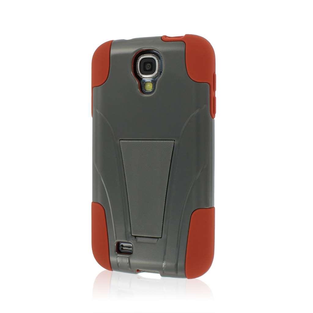 Samsung Galaxy S4 - Sandstone/ Gray MPERO IMPACT X - Kickstand Case Cover