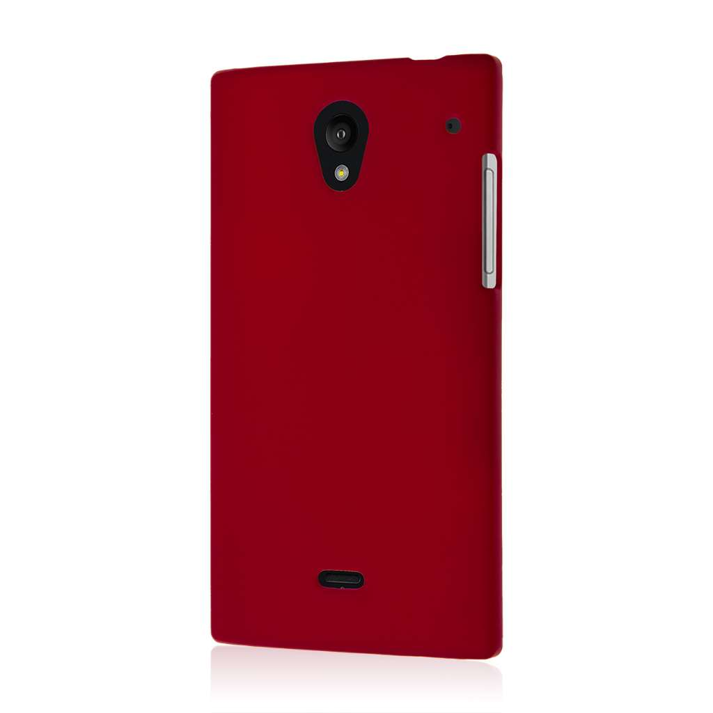Sharp AQUOS Crystal - Burgundy MPERO SNAPZ - Case Cover