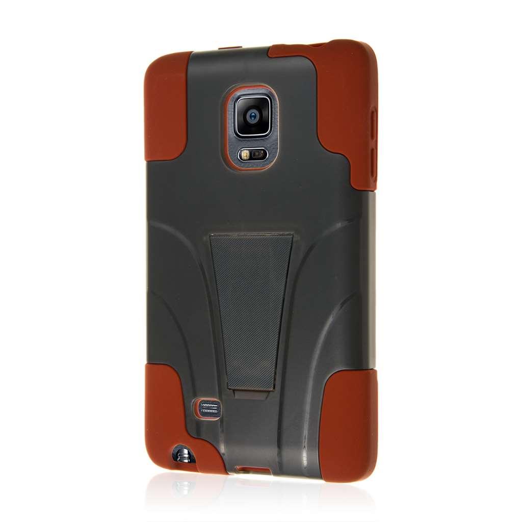 Samsung Galaxy Note Edge - Sandstone / Gray MPERO IMPACT X - Kickstand Case