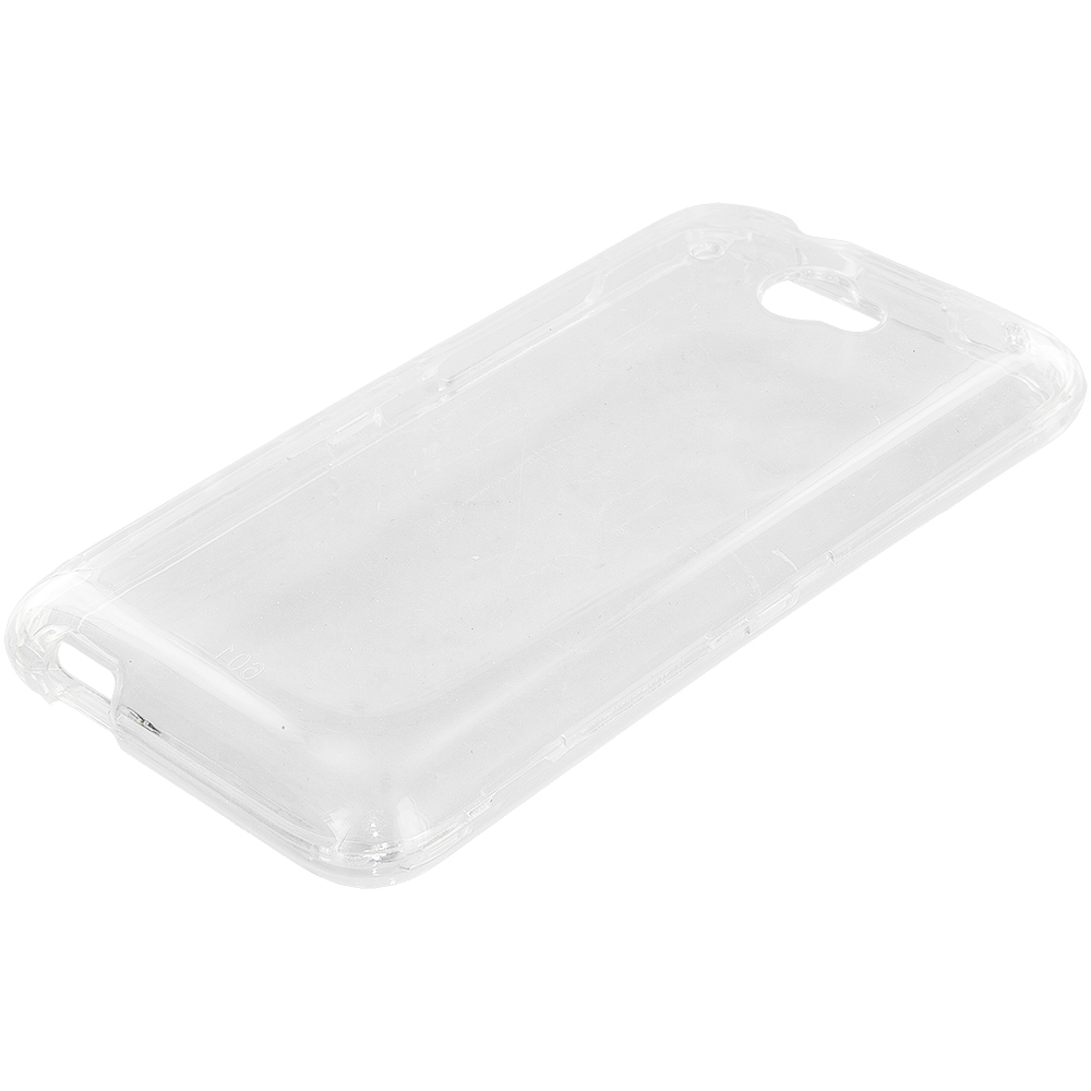 HTC Desire 601 Clear Crystal Transparent Hard Case Cover
