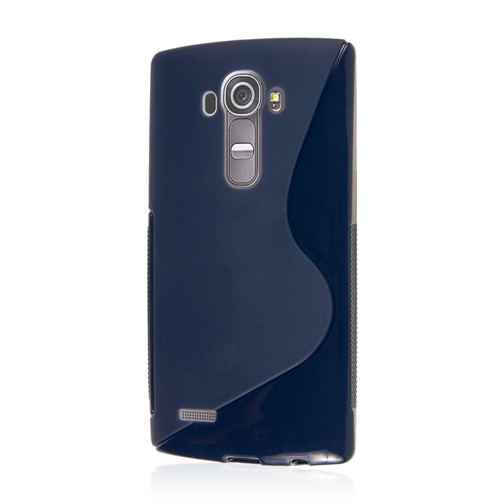 LG G4 - Navy Blue MPERO FLEX S - Protective Case Cover