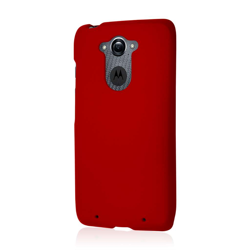 Motorola DROID TURBO - Burgundy MPERO SNAPZ - Case Cover