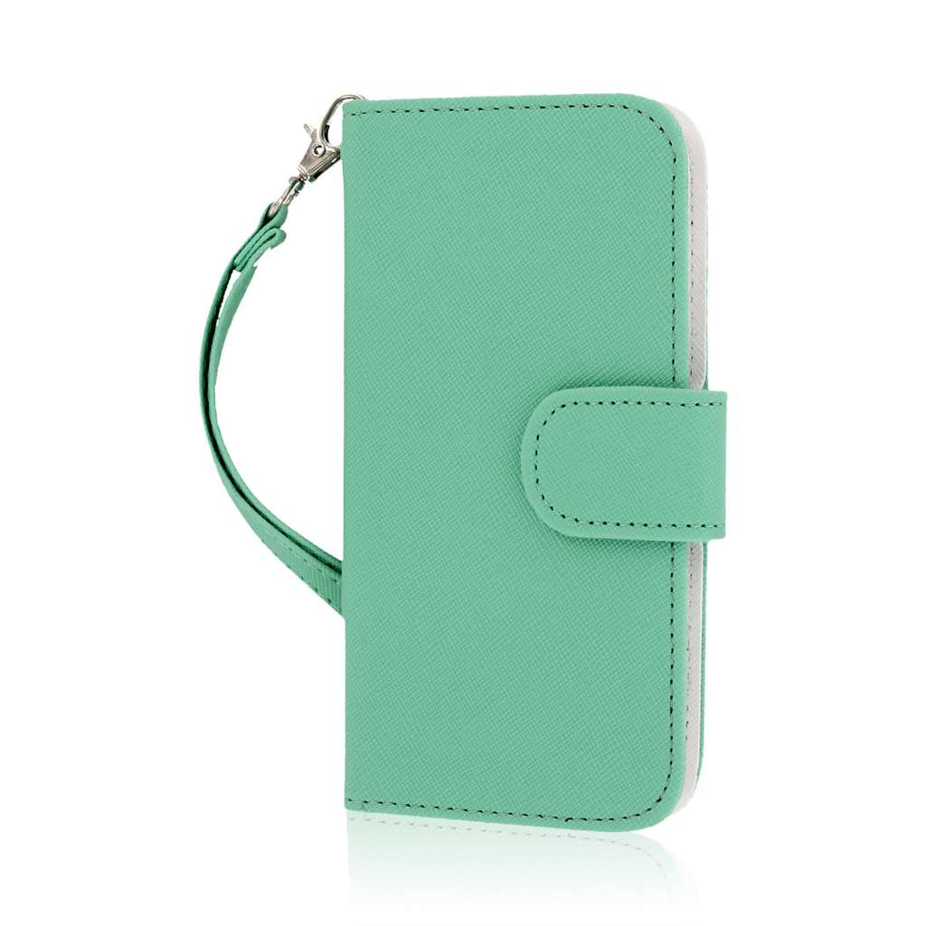 Apple iPhone 6/6S - Mint MPERO FLEX FLIP Wallet Case Cover