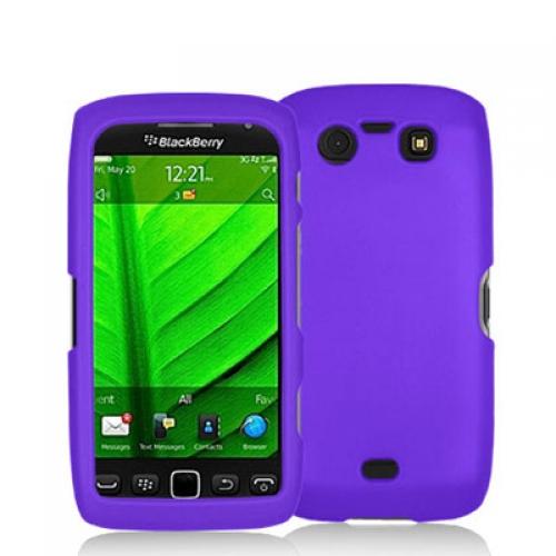 BlackBerry Torch 9850 9860 Purple Hard Rubberized Case Cover