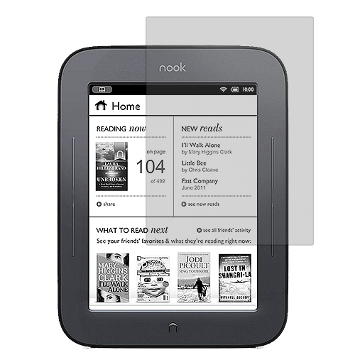 Barnes & Noble Nook Simple Touch Clear LCD Screen Protector