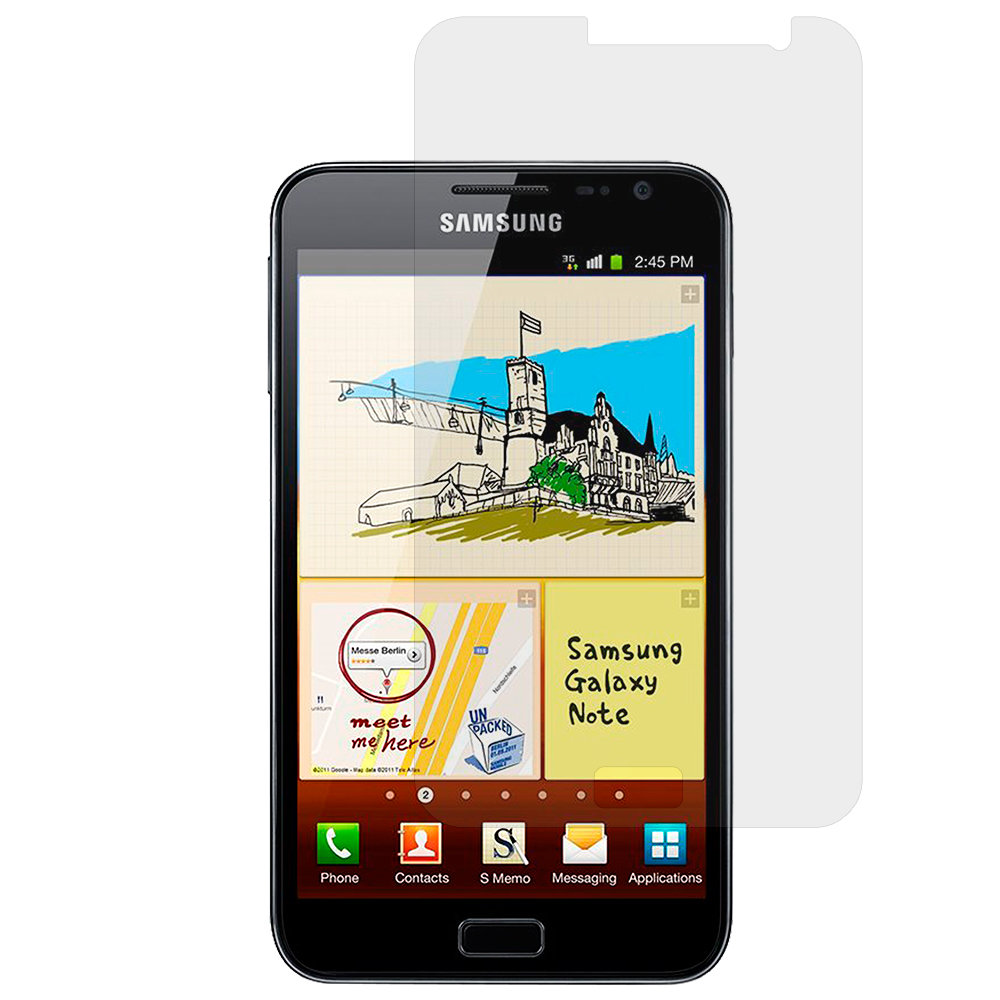 Samsung Galaxy Note i717 N7000 Clear LCD Screen Protector