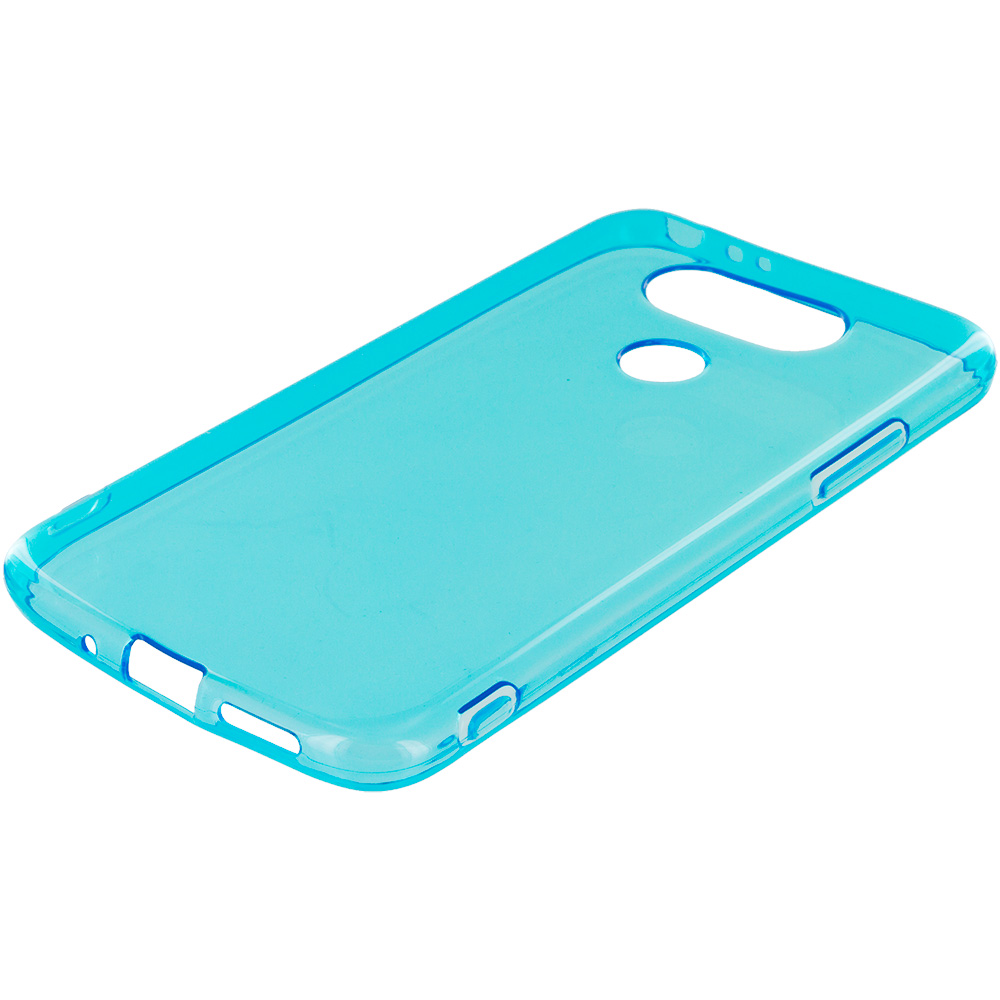 LG G5 Baby Blue TPU Rubber Skin Case Cover