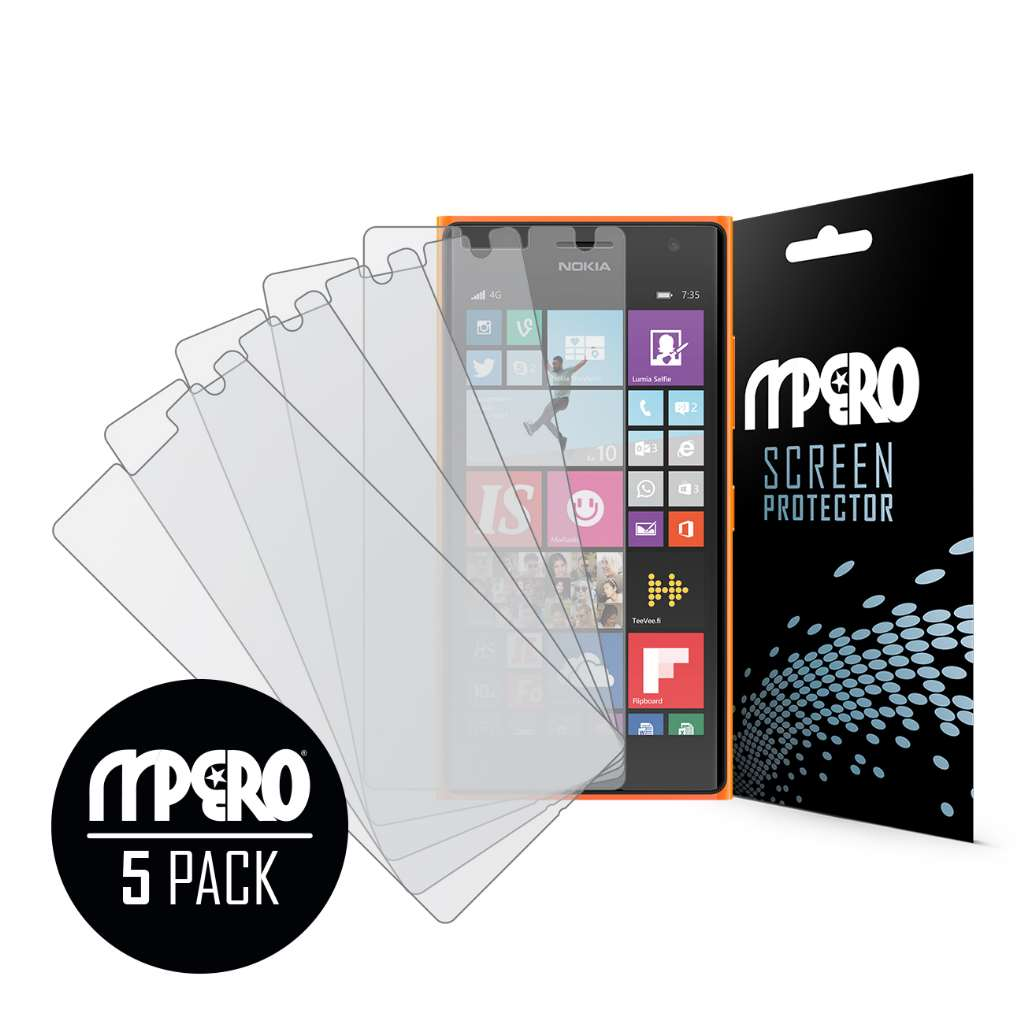Nokia Lumia 735 MPERO 5 Pack of Matte Screen Protectors