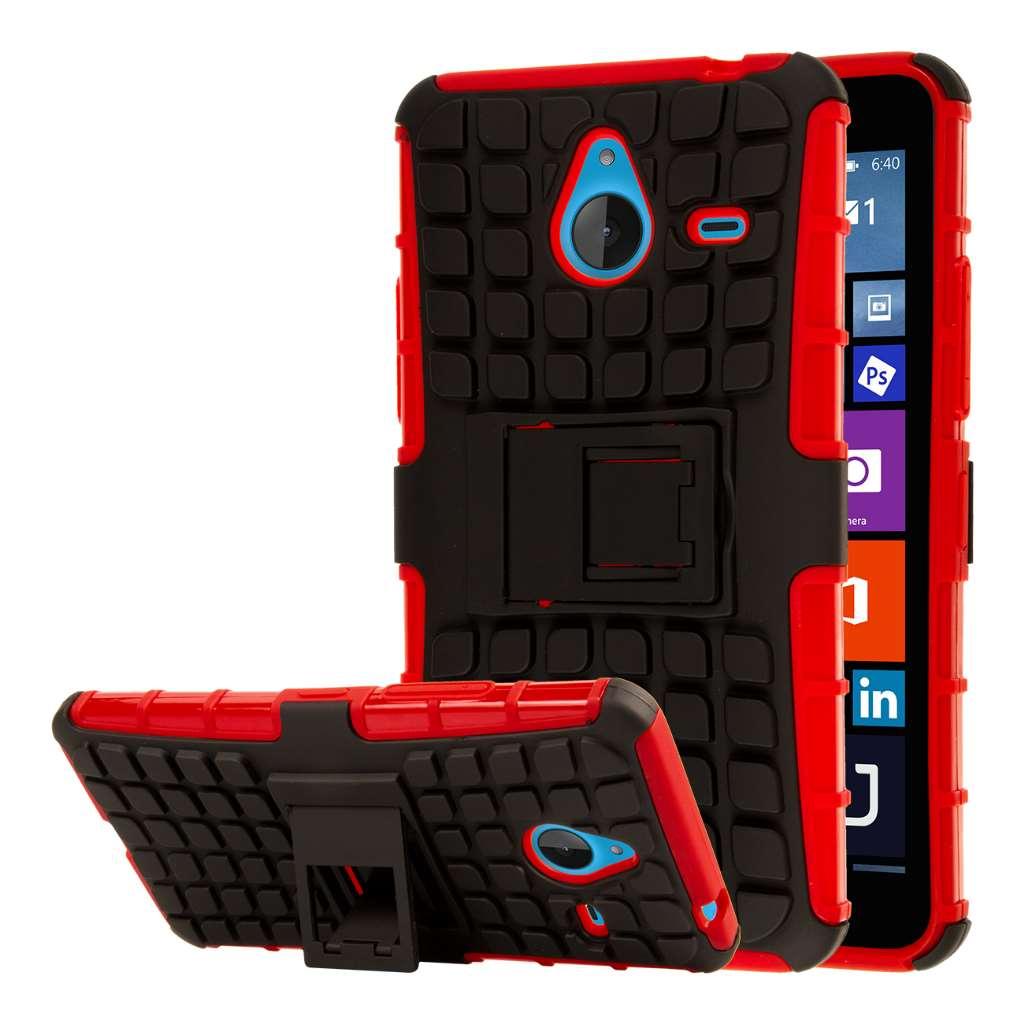 Microsoft Lumia 640 - Red MPERO IMPACT SR - Kickstand Case Cover