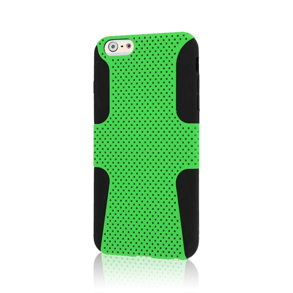 Apple iPhone 6 6S Plus - Neon Green MPERO FUSION M - Protective Case Cover