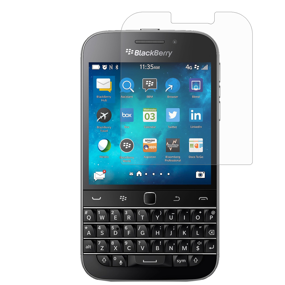 BlackBerry Classic Clear LCD Screen Protector