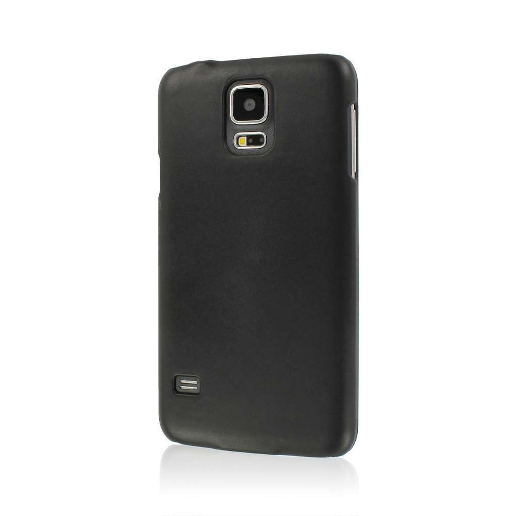 Samsung Galaxy S5 MPERO Slim Fit Hard Case Cover Black Matte